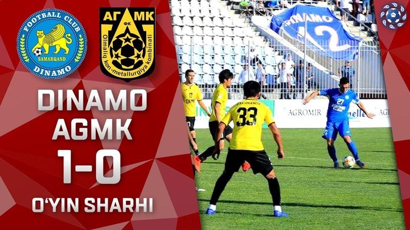 Dinamo - AGMK - 1:0 | O'yin sharhi | Superliga 8-tur (11.05.2019)