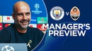 Pep Guardiola previews City v Shakhtar | PRESS CONFERENCE