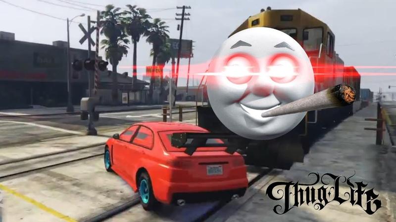 GTA 5 Thug Life Лучшее 5   Фейлы, Трюки, Эпичные Моменты   Приколы в GTA 5