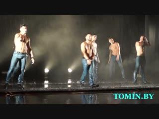 «Искушение» шоу под дождем от Санкт-Петербургского театра танца