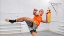 Из этой стойки удары будут сильнее  Передвижения в тайском боксе