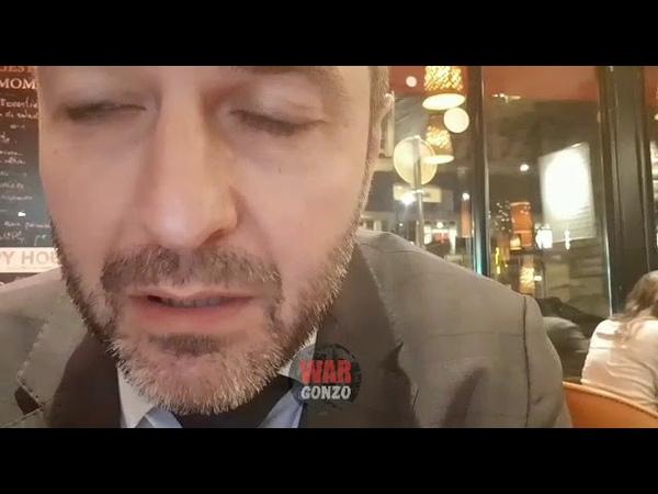 Француз с флагом ДНР в Париже рассказал о своем поступке