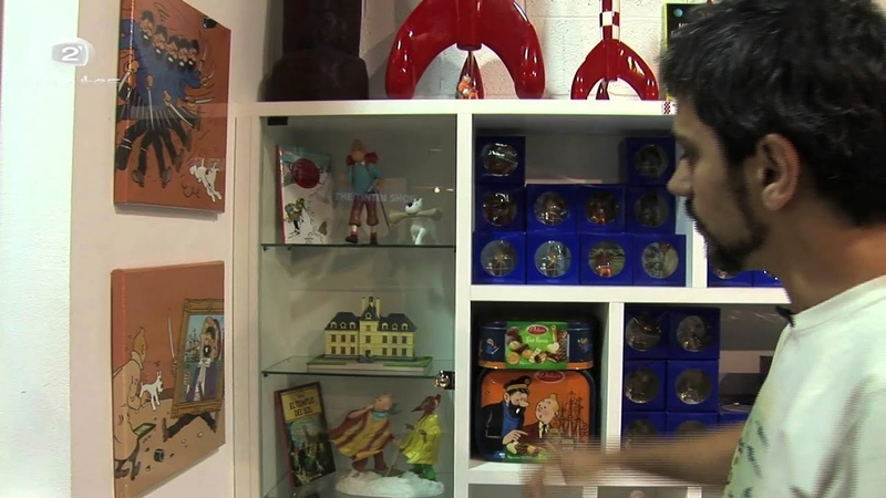 The Tintin Shop ¡la primera tienda oficial en España!