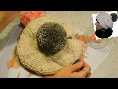 Вяжем берет в стиле Лакшери Процесс вязания берета Схемы