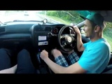 Первая закусь Коляна - Subaru Legacy B4 twin turbo против Mitsubishi Galant VR4 twin turbo