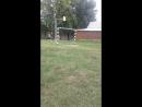 Пашка играет фудбол