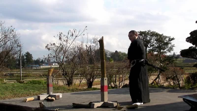 抜刀試斬稽古 失敗集 Japanese Katana Failure Cutting 日本刀試し斬り 1080p