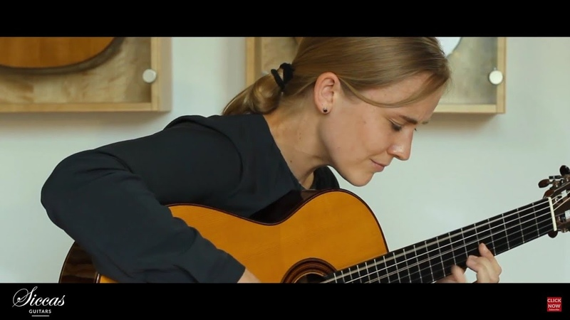 Jule Malischke plays Medusa by Thomas Fellow on a 2016 Jost von Huene