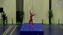 World Championship 2018 Alisa Vardosanidze aerial hoop