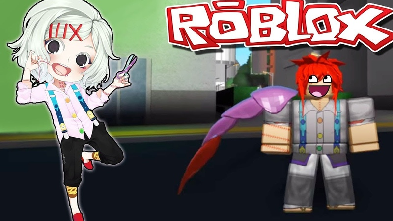 ГУЛЬ В ГОРОДЕ - АНИМЕ ИГРА РОБЛОКС ТОКИЙСКИЙ ГУЛЬ - Roblox Tokyo Ghoul game