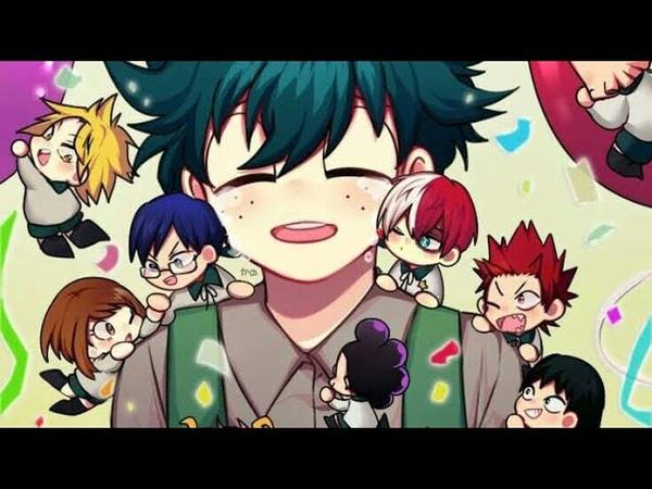 🎁ДЕНЬ РОЖДЕНИЯ ИЗУКУ🎁додзинси Моя Геройская Академия BNHA My Hero Academia Doujinshi dub comics
