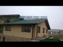 Горячая вода от солнечных коллекторов при тумане