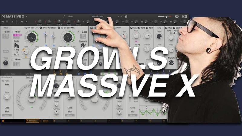 MASSIVE X SKRILLEX GROWLS
