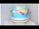 Торт Коробка С Цветами Тренд 2019 Сборка и Оформление Cake Box With Flowers