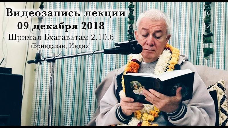 09 декабря 2018 Шримад Бхагаватам 2.10.6 (Вриндаван)