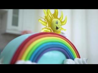 Радужный торт. Готовим волшебство