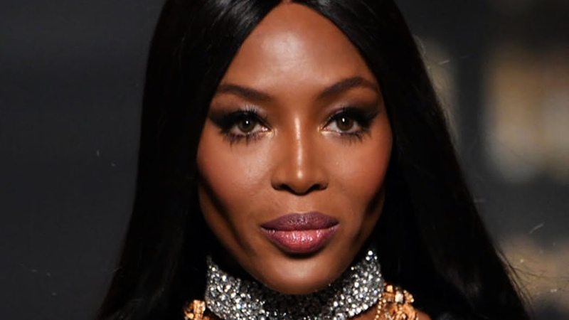 Naomi Campbell Queen's walk 2018