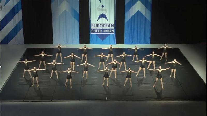 Cheerleading .Senior Jazz Team Croatia SV team Divas.