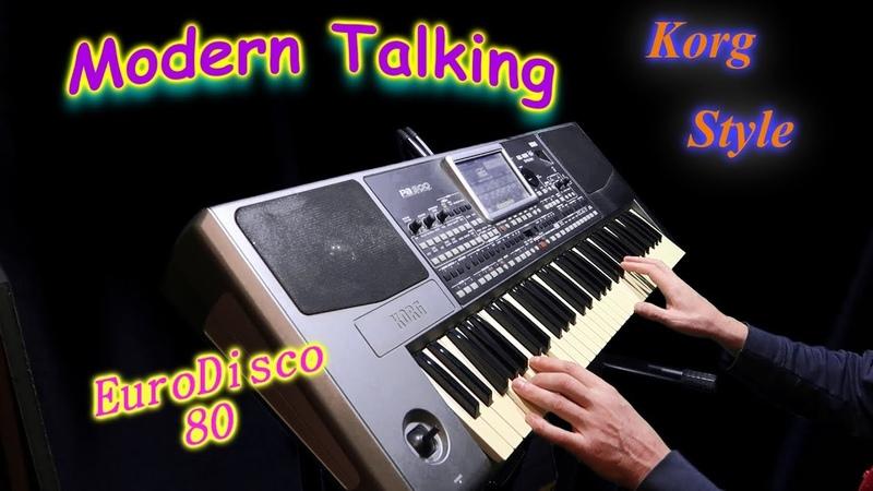 KorgStyle Modern Talking -(Korg Pa 900) EuroDisco80
