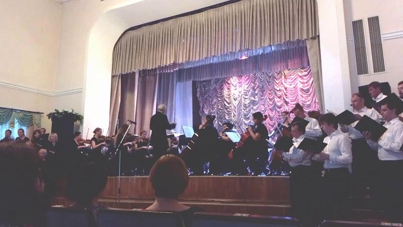 Концерт закрытия концертного сезона 2017 2018 Могилёвской капеллы 1