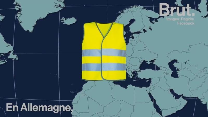 Gilets Jaunes : La contagion dans toute l'Europe ! Pourquoi ?