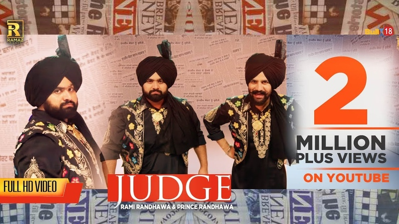 Judge | Rami Prince Randhawa | New Punjabi Songs 2019 | Beat Minister | Ramaz Music