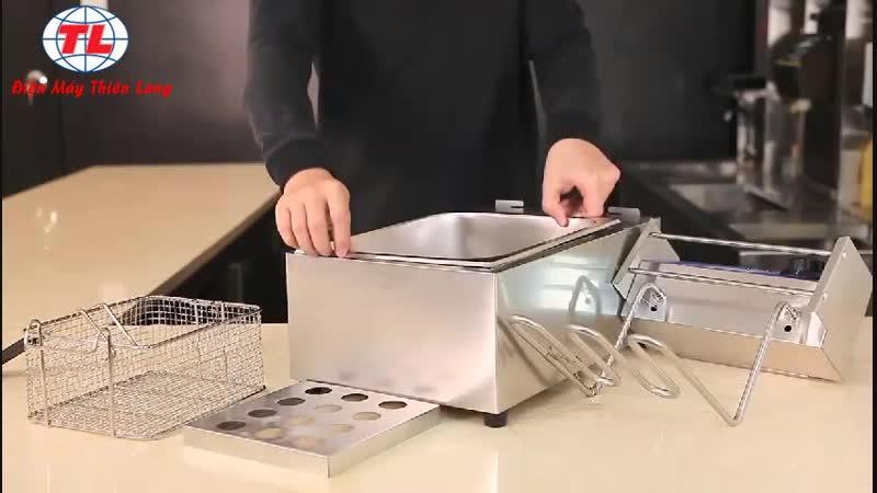 【HDSD】Bếp chiên điện 1 ngăn | Bếp chiên điện 2 ngăn | Bếp chiên đơn | Bếp chiên đôi GIÁ CHỈ TỪ【85OK】