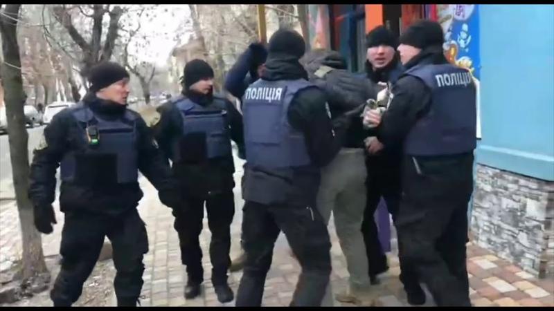 1 февраля 2019. Бердянск. Вилкул и зелёнка в Бердянске