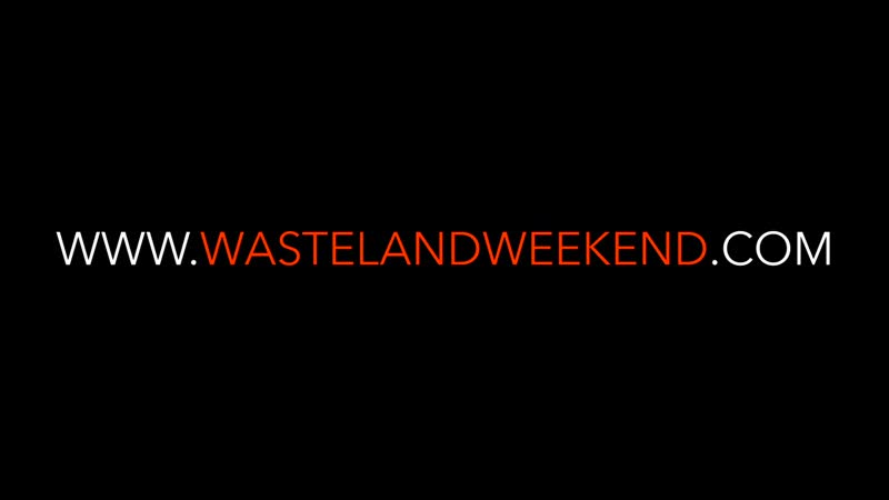 Official aerial footage _ drone highlights from Wasteland Weekend 2018