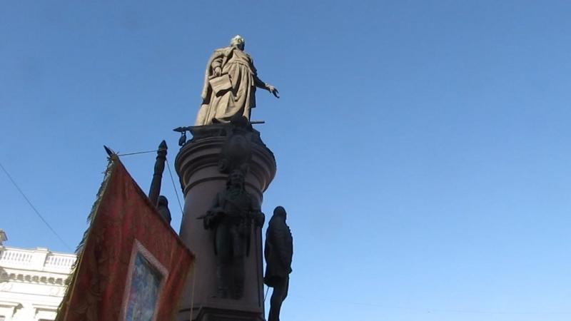 крестный ход на покрова в Одессе 2