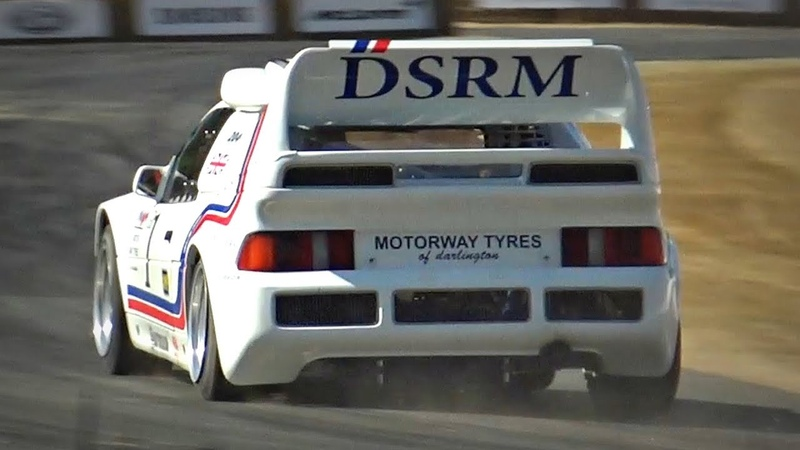 CRAZY FAST Old School 1986 Ford RS200 EVO in Action! - 650HP 2.1 Cosworth Engine!