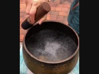 Тибетская поющая чаша 🎼