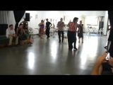 Lesson of Tango Canyengue MOCCA with Junior Abreu and Roxina Villegas