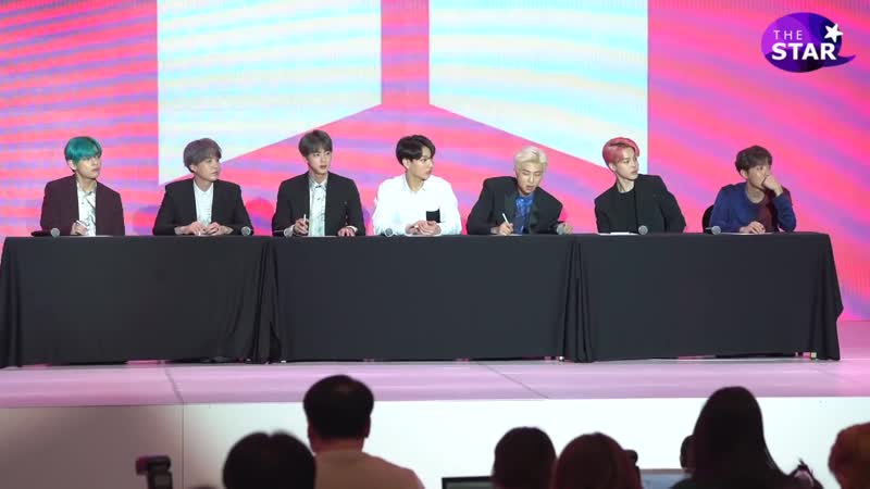 [VIDEO][BTS PERSONA Global Press Conference][190417]