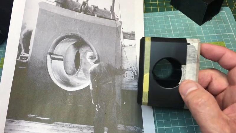 Soar Art 1/35 Dora Railway Gun Breech mods Part 1