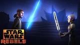 Kanan vs. Sabine Star Wars Rebels Disney XD