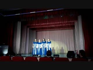 Песня Пасхальная Е. Карташова . хор Многоголосье Отрадное октябрь 2018