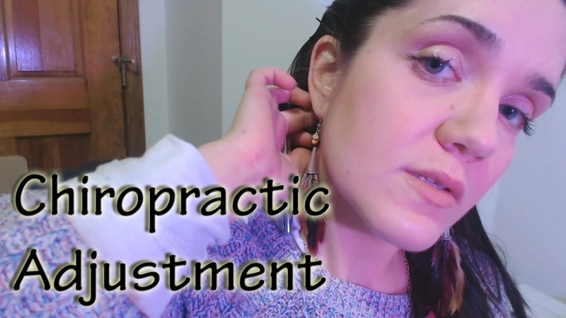 ASMR Chiropractor RP - Satisfying Neck Crack, Massage