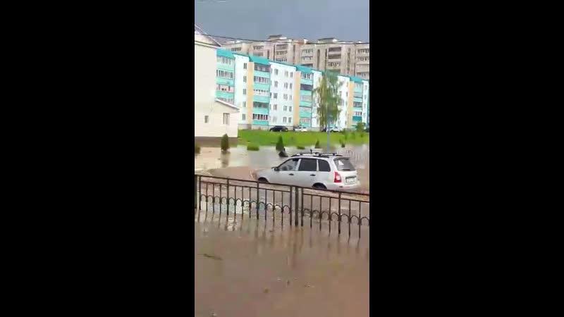 Потоп в Лениногорске