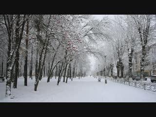Зима в Нижнекамске. Автор видео Рустем Исламов