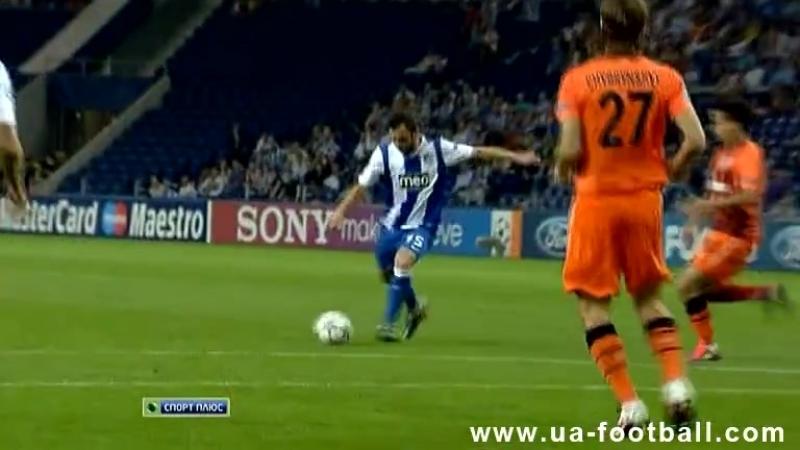 Лига Чемпионов 2011 12 Порту 2 1 Шахтёр 1 й тур Обзор матча