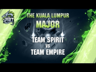 The kuala lumpur major open qualifiers - day 1