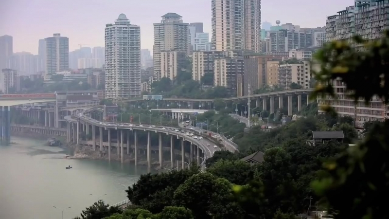 Chongqing through the lens of time-lapse photography