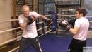Бокс: встречные удары на отходе (English subs)