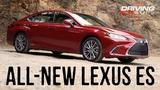 2019 Lexus ES 300h Hybrid Luxury Sedan Hits the Canyon Roads (Full Review)