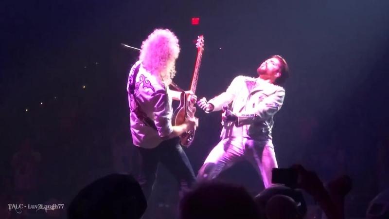 Q ueen Adam Lambert - Crazy L ittle Thing C alled Love - P ark Theater - Las Veg