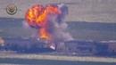 24.05.19 - Выстрелом из ПТРК был уничтожен танк САА, скорее всего, примерно в этом месте (очень много совпадений по местности, но нет 100% уверенности)