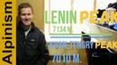 Lenin Peak and Khan Tengri