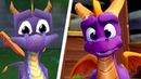Spyro Reignited Trilogy All Intros Comparison PS4 vs Original