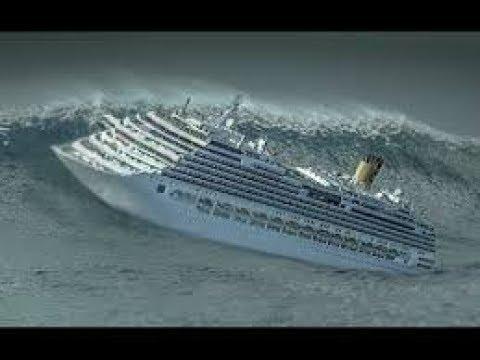 Шторм внутри круизного лайнера. Storm inside the cruise liner.